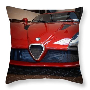 By Zagato Throw Pillow
