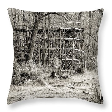 Bygone Days Throw Pillow by William Beuther