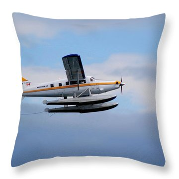 C-frno Throw Pillow by Mark Alan Perry