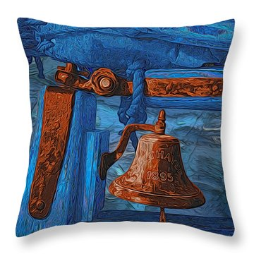 C. A. Thayer Throw Pillow by Jack Zulli