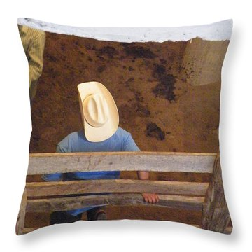 Throw Pillow featuring the photograph Caballero by Brian Boyle