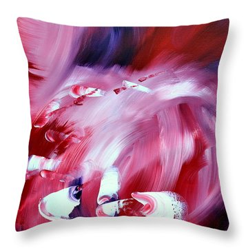 Cabaret Throw Pillow by Isabelle Vobmann