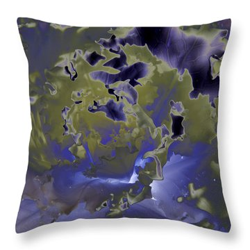 Cabbage Throw Pillow by Patrick Kessler