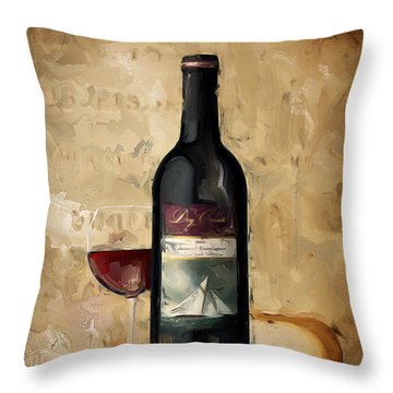 Cabernet Iv Throw Pillow