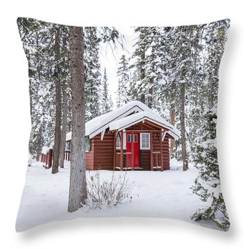 Cabin Fever Throw Pillow
