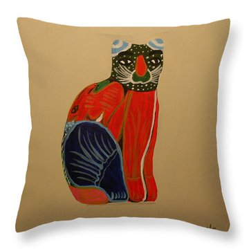Cabo Gato Throw Pillow
