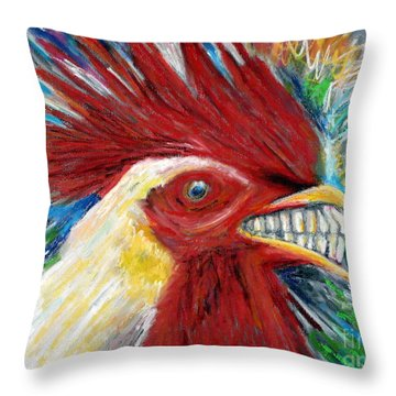 Cabo Rooster Throw Pillow