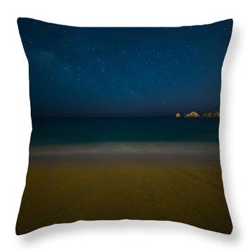 Cabo San Lucas Beach Throw Pillow