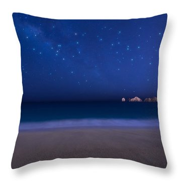 Cabo Stars Throw Pillow