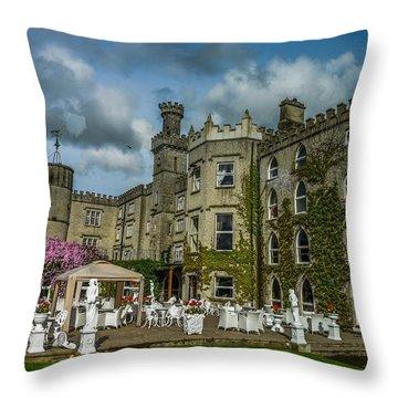 Cabra Castle - Ireland Throw Pillow