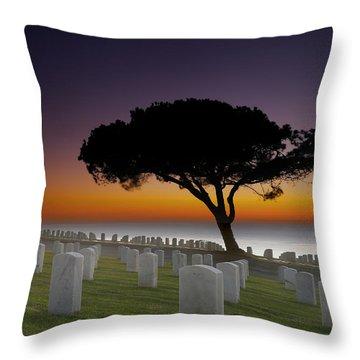 Graveyard Throw Pillows