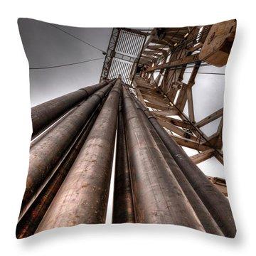 Cac001-55 Throw Pillow