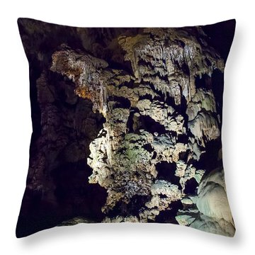 Cacahuamilpa 1 Throw Pillow