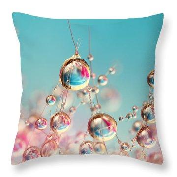 Cactus Candy Throw Pillow