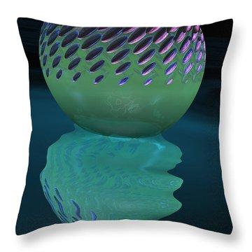 Cactus Melt  Throw Pillow