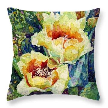 Cactus Splendor I Throw Pillow
