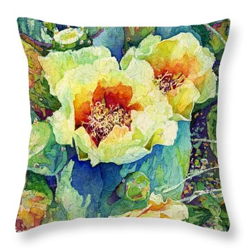 Cactus Splendor II Throw Pillow