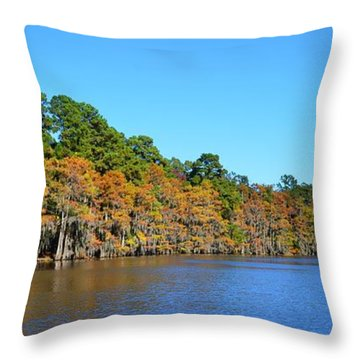 Caddo Lake 1 Throw Pillow