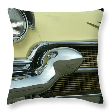 Caddy Classic Yellow-1 Throw Pillow