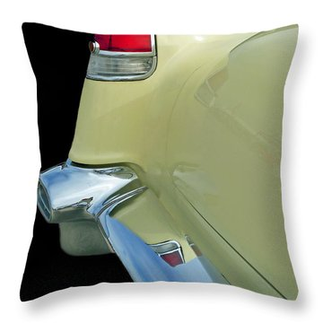 Caddy Classic Yellow-2 Throw Pillow
