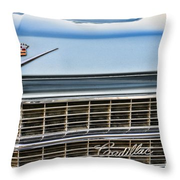 Caddy Grill Throw Pillow by Paul Ward