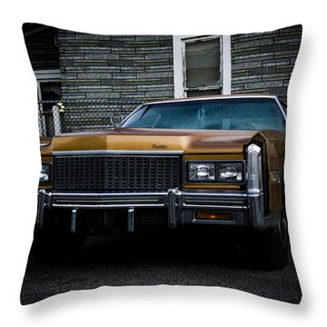 Caddy  Throw Pillow by Off The Beaten Path Photography - Andrew Alexander