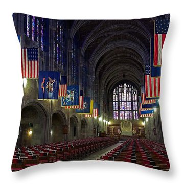 Cadet Chapel At West Point Throw Pillow