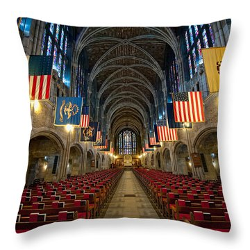 Cadet Chapel Throw Pillow