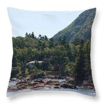 Cadillac Mountain - Bar Harbor Throw Pillow by Dora Sofia Caputo Photographic Design and Fine Art