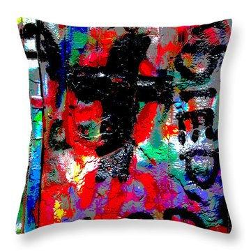 Throw Pillow featuring the photograph Cadillac by Randi Grace Nilsberg