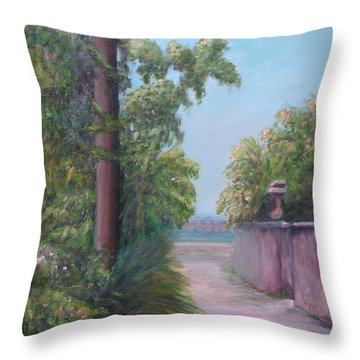 Cadiz Street Throw Pillow