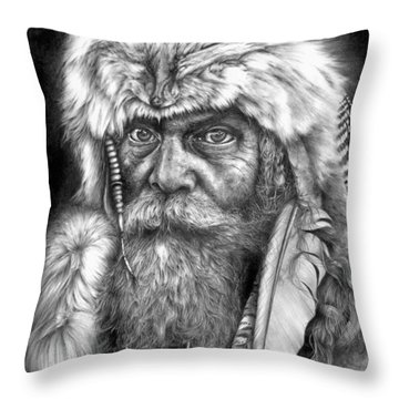 Caesar Of The Wilderness Throw Pillow