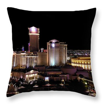 Caesars Palace - Las Vegas Throw Pillow