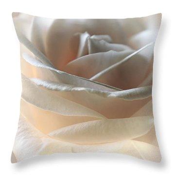 Cafe Latte Throw Pillow by Darlene Kwiatkowski