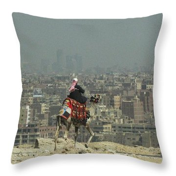 Cairo Egypt Throw Pillow