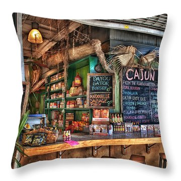 French Cafe Photographs Throw Pillows