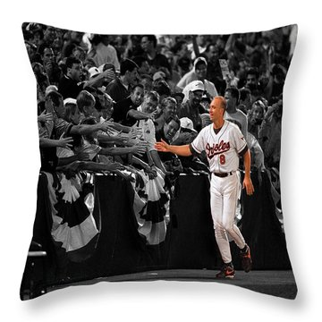 Cal Ripken Throw Pillow