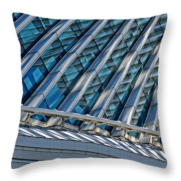 Calatrava In The Morning Throw Pillow by Mary Machare