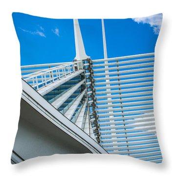 Calatrava Point Throw Pillow