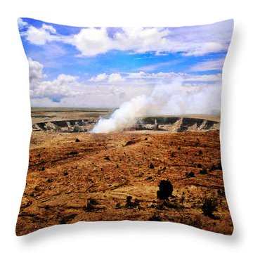 Caldera Throw Pillow
