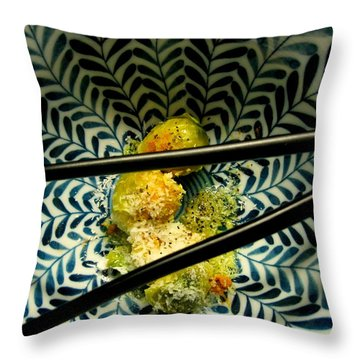 Cali-asian Fusion Throw Pillow
