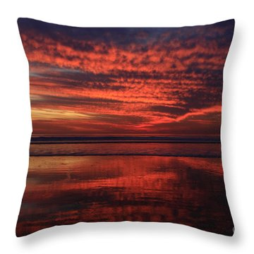 Cardiff Afterglow  Throw Pillow