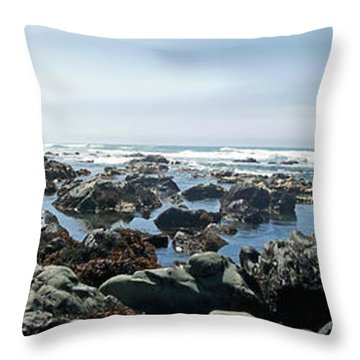 California Beach 1 Throw Pillow
