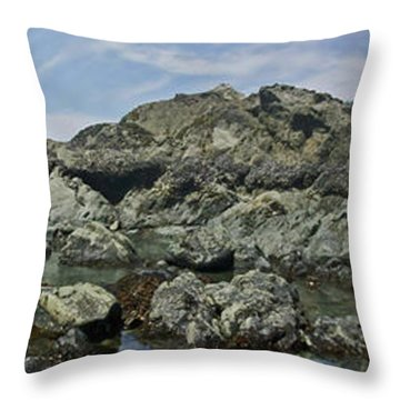 California Beach 2 Throw Pillow