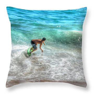 California Boogie Throw Pillow