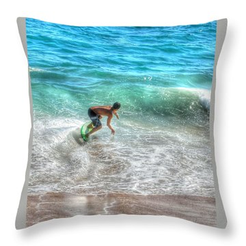 California Boogie Throw Pillow