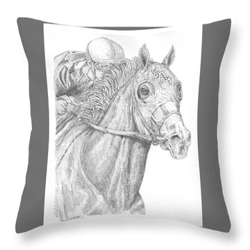California Chrome Throw Pillow