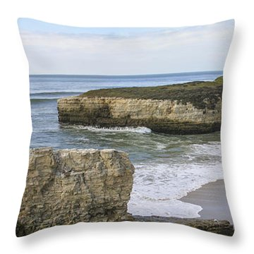 California Cove Throw Pillow