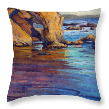 California Cruising 6 / El Matador Throw Pillow