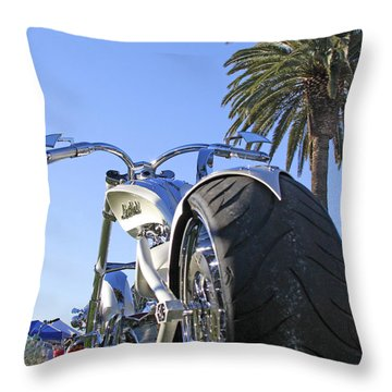 California Dreamin Throw Pillow by Shoal Hollingsworth